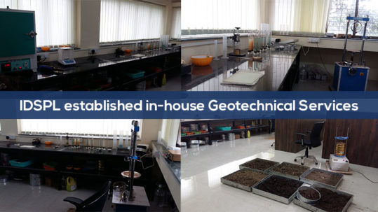 IDSPL established in-house Geotechnical Services